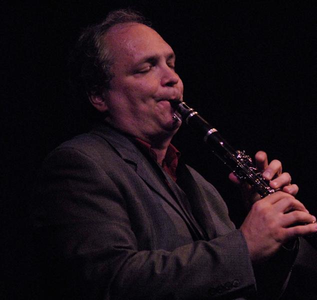 Ken Peplowski on clarinet